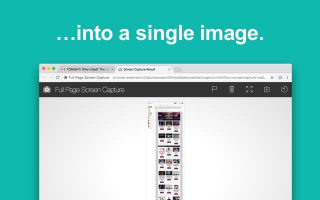 Full Page Screen Capture Chrome拡張機能