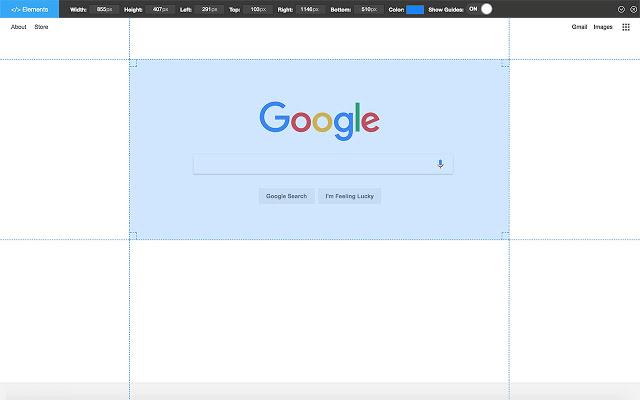Page Ruler Chrome拡張機能
