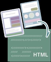 HTMLの見本