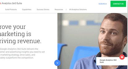 Google Analytics 360 Suiteを発表
