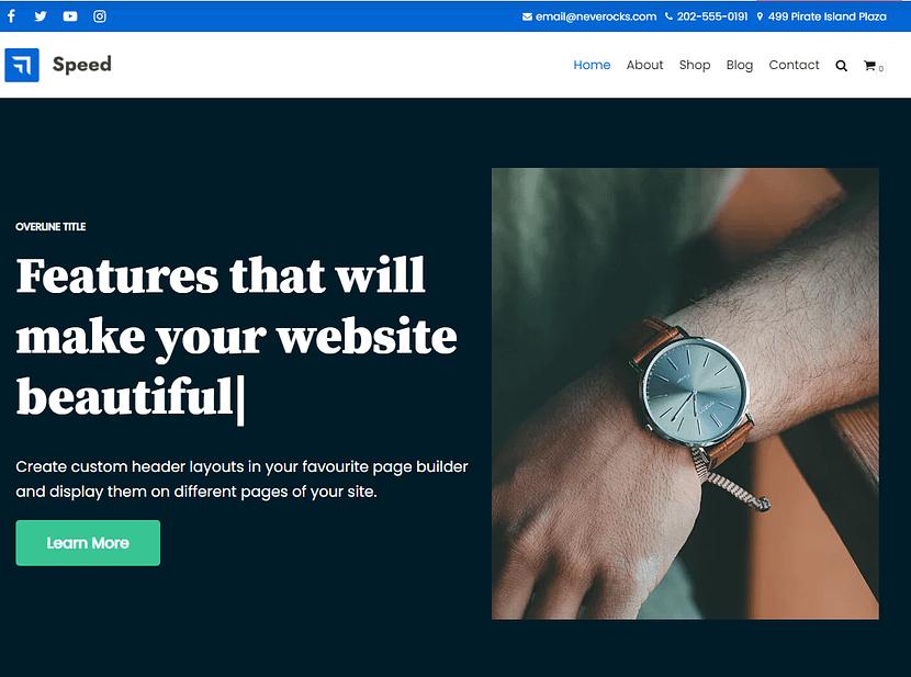 Neve WordPress無料テンプレート
