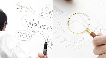ホームページ制作 後の運用と SEO対策 を含むwebコンサルティング