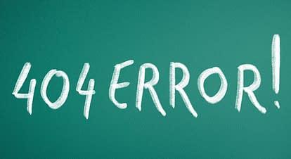 404エラー(Not Found)(リンク切れ)にSEOに影響があるのか?