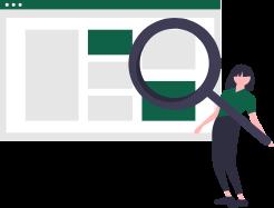 SEO対策に特化したウェブサイト